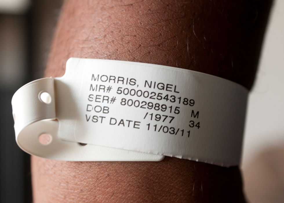 Hospital Tags by Nigel Morris of Nigel Morris Photography
