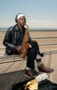 TJ, A Musician, from the Coney Island, Faces of the Boardwalk, shot by Nigel Morris of Nigel Morris Photography, Brooklyn, New York, 2012
