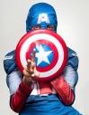 Oldest Nephew. Captain America. Shot by Nigel Morris, of Nigel Morris Photography